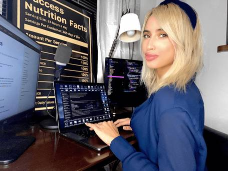@gigi_codes: After seeing so many success stories about women in tech I knew it was possible