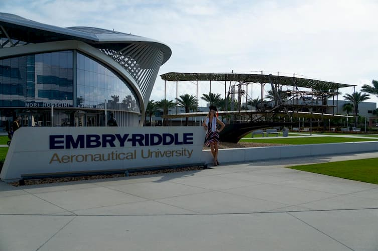 @BlondeEngineeringGirl at Embry-Riddle