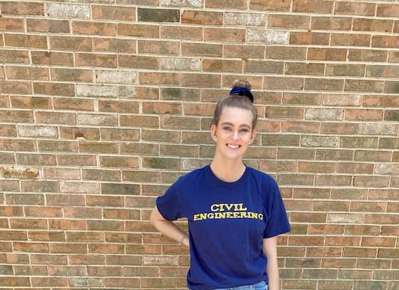 A chat with civil engineering student Emily