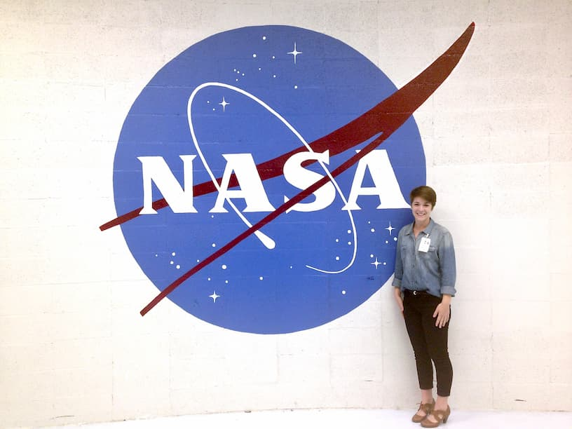 Natalie at NASA
