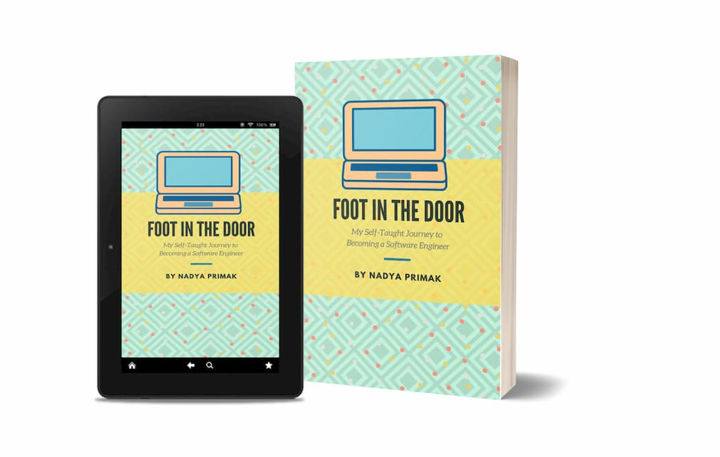 Nadya's book Foot in the door