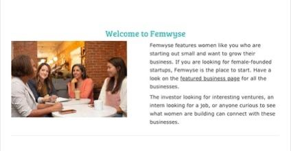 Femwyse features female-founded stand-up